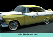 Puzzle 1956 Ford Fairlane Victoria