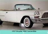 Puzzle 1957 Chrysler 300c Convertible
