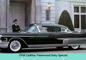 1958 Cadillac Fleetwood Sixty Spé