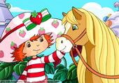 Puzzle Charlotte aux fraises et Caramel