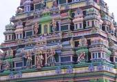 Puzzle temple hindou île la réunion