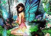 Puzzle fée papillon