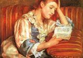 La liseuse- Mary Cassatt