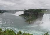 Puzzle en ligne Les chutes du Niagara