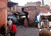 Jeu puzzle Souk Marrakech