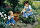 Puzzle jardinage