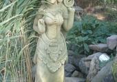 Jeux de puzzle : statue bouddhiste