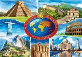 Puzzles carte postale