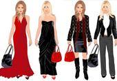 Puzzle en ligne stars de la mode