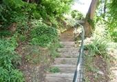 Puzzle Puzzle gratuit escalier à Auvers s/Oise