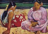 Jeux de puzzle : tahitiennes par Gauguin