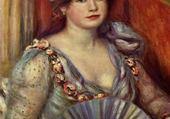 Puzzles femme à l'éventail - Renoir