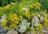 Puzzle bouquet champètre