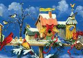 Puzzle maisons d oiseaux
