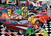 Jeux de puzzle : années 60