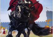 Jeu puzzle chevalier rouge