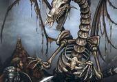 Jeu puzzle Liche dragon