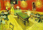 Puzzles café Lamartine à Arles - Van Gogh