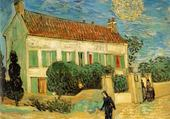 Jeu puzzle maison blanche par Van Gogh