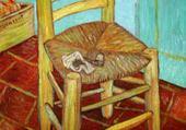 Jeu puzzle chaise jaune par van gogh