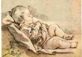Puzzle Jeu puzzle enfant endormi - françois boucher