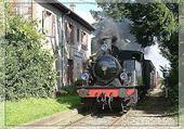 Puzzle train vapeur