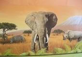 Jeu puzzle éléphant