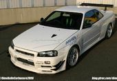 Puzzle Nissan skyline gt-r