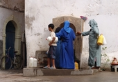 Puzzle en ligne Fontaine publique à Essaouira