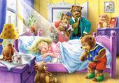 Puzzle gratuit boucle d'or et les 3 ours