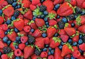 Puzzle fruits rouges