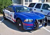 Puzzle dodge charger de police