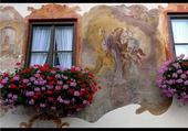 fleurs et peinture