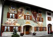 Puzzle maison peinte