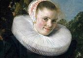 Puzzle portrait de femme par Frans Hals