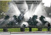 la fontaine des girondins