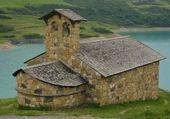 Jeux de puzzle : chapelle de roselend