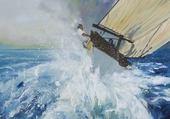 Puzzle dans la vague