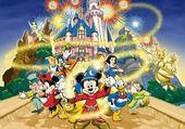 Jeux de puzzle : Walt Diney magic's