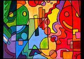 Jeux de puzzle : color