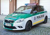Puzzles skoda fabia de policia