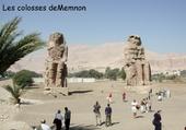 Jeu puzzle les colosses de Memnon