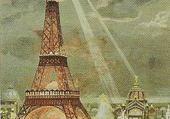 Jeu puzzle Embrasement de la tour Eiffel