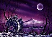 Puzzle dragon de soir