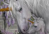 Puzzle Puzzle les licornes