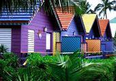 Puzzle Puzzles Maisons colorées