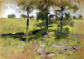 Puzzle gratuit 3 arbres - John Henry Twatchman