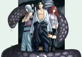 Jeu puzzle naruto sasuke