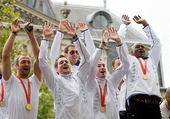 Puzzle handball olympic