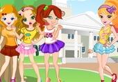 Jeux de puzzle : les filles